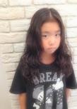 ふわふわkidsパーマ☆|Hair House Luana  by NYNYのヘアスタイル