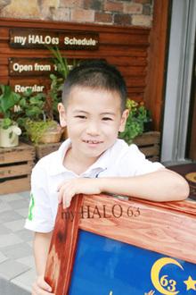 爽やか&元気なキッズショート|my HALO 63のヘアスタイル