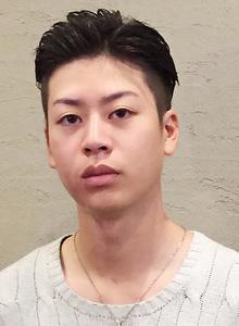クールなキャラが良く似合う・・・。|メンズ専門理容室インフィニィト 新長田/神戸市/長田区/のヘアスタイル