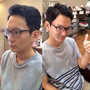 アダルティなニュアンス |メンズ専門理容室インフィニィト 新長田/神戸市/長田区/のヘアスタイル