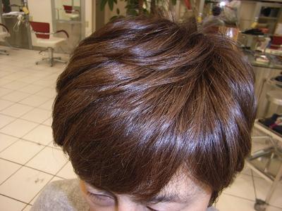ナチュラルショート|学芸大学美容室 a(アップロード)のヘアスタイル