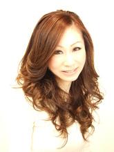 ルーズウェーブ|Hair&Make Lumiereのヘアスタイル