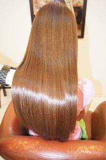 キャラメルベージュ|M3D OSAKA GIONのヘアスタイル