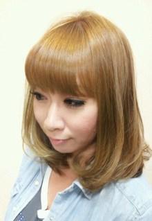 ふわミディボブ|ヘアー&エステ JAPS Hair Salonのヘアスタイル