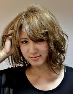 外国人風ヌーディーヘア|Hair Director's Abientotのヘアスタイル