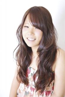 ゆるふわミックスカール|RULA hairのヘアスタイル