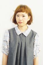 カジュアルボブ+ベビーバング♪ YARD. 竹下 孝憲のヘアスタイル