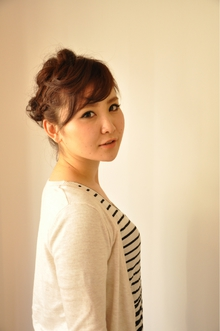 【avli】編みこみゆるふわアップ|avliのヘアスタイル