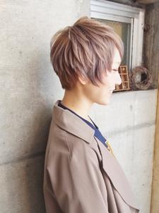 モード×ラベンダーアッシュ|Cadre 新小岩店のヘアスタイル