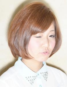 キュートボブ|Cadre 新小岩店のヘアスタイル