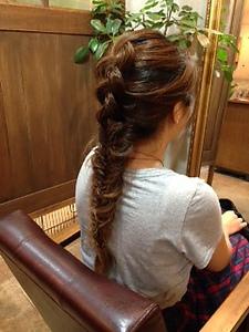 フィッシュボーン★|Hair&Nail CAMELのヘアスタイル