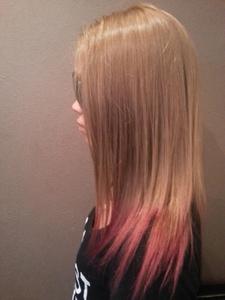 ピンクグラデーション|Hair&Nail CAMELのヘアスタイル