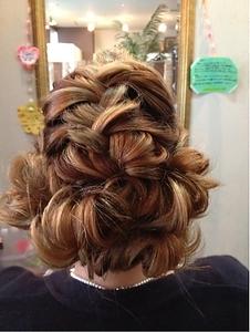3D編みこみ☆ Hair&Nail CAMELのヘアスタイル