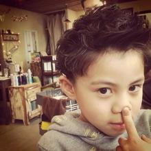 ジャスティンビーバー風KIDS|Coletteのキッズヘアスタイル