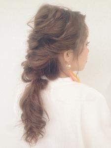 外国人風 / レトロarrange Coletteのヘアスタイル