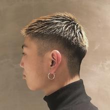 外国人風・ヘア・おしゃれボウズ|COLETTEのヘアスタイル