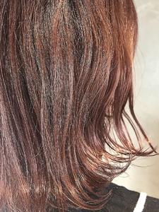 ピンクアッシュ小顔ボブ|Coletteのヘアスタイル