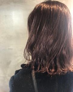 外国人風×ハイライト×セピアピンク COLETTEのヘアスタイル
