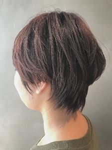 30代40代大人かわいい小顔ひし形ショートボブショート|COLETTEのヘアスタイル