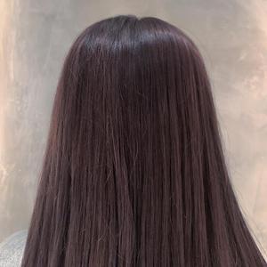 ラベンダーアッシュ オンカラー|COLETTEのヘアスタイル