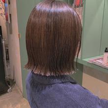 パツっとボブ|Colette 麻由のヘアスタイル