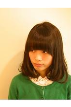 ナチュラル ミディアムボブ|Salon Moda 有澤 貴弘のヘアスタイル