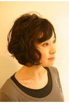 ショート Sカール|Salon Modaのヘアスタイル