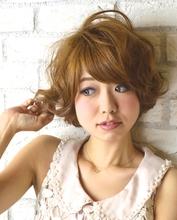ふんわり起き抜けボブ|Hair Lounge Ayung(ヘアラウンジ アユン) 川崎 敏智のヘアスタイル
