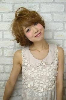起き抜けフェアリーボブ|Hair Lounge Ayung(ヘアラウンジ アユン)のヘアスタイル