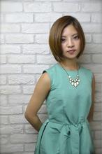 Ayung 小顔ボブ☆ Hair Lounge Ayung(ヘアラウンジ アユン) 清水 有実子のヘアスタイル