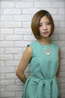 Ayung 小顔ボブ☆|Hair Lounge Ayung(ヘアラウンジ アユン)のヘアスタイル