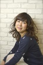 ガーデンウェーブ|Hair Lounge Ayung(ヘアラウンジ アユン) 川崎 敏智のヘアスタイル