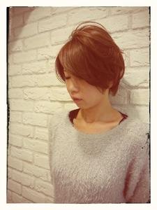 大人女子のツーブロックショート|Hair Lounge Ayung(ヘアラウンジ アユン)のヘアスタイル