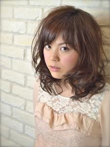 春の愛され☆ゆるふわカール|Hair Lounge Ayung(ヘアラウンジ アユン)のヘアスタイル