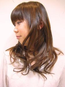 ふんわりナチュラルパーマ|Hair Lounge Ayung(ヘアラウンジ アユン)のヘアスタイル