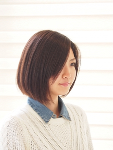 大人ボブ|Hair Salon Haricotのヘアスタイル