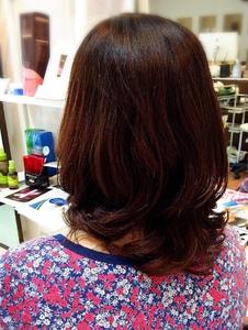 シアバター縮毛矯正+デジタルパーマ+トリートメント|Climb hairのヘアスタイル