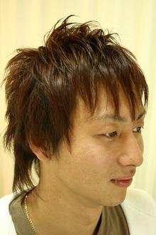 ソフトモヒカン風メンズショート|coup de ventのヘアスタイル