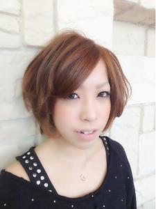 ☆ふんわりエアリーショートボブスタイル☆|e-style vivi 赤池店のヘアスタイル
