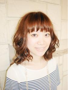 ☆ガーリー&sweetパーマヘアー☆|e-style vivi 赤池店のヘアスタイル