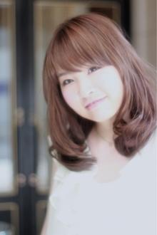 《シンプル可愛く!》恋感度ゆるふわセミディ☆ fino 銀座のヘアスタイル
