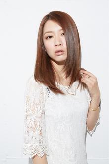 【クール】おとなセミディ♪ fino 銀座のヘアスタイル
