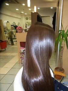 シャインストレート fino 銀座のヘアスタイル