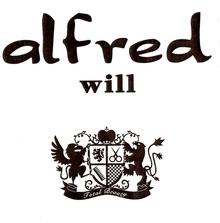alfred will 蛍池 | アルフレッドウィル ホタルガイケ のロゴ