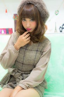 【あちゅこ♂】ふわゆれミディ|RECIEL 岐阜店のヘアスタイル