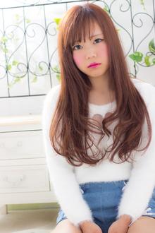 【あちゅこ♂】ワンカールストレート×ロング|RECIEL 岐阜店のヘアスタイル