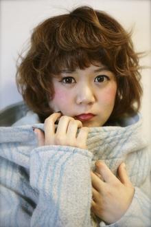☆ほっこりカーリー☆|Boomerangs e-style 六条店のヘアスタイル