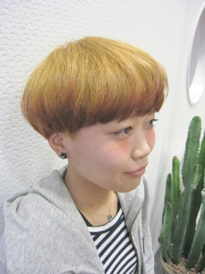 ☆マニッシュボブ☆|Boomerangs e-style 六条店のヘアスタイル