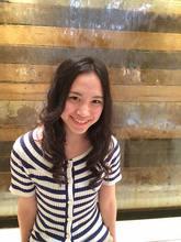 ふんわりクールビューティー|COM'S / i テラスモール湘南のヘアスタイル