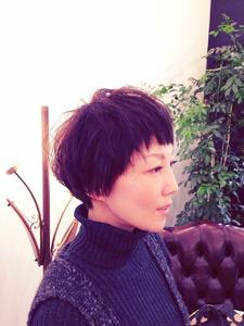 マッシュショート|COM'S / i テラスモール湘南のヘアスタイル